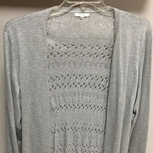 Maurices Gray Sweater Plus Size 3